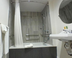 King Wheelchair Accessible Room #3