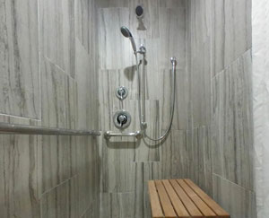 Wheelchair Accessible Roll in Shower 2