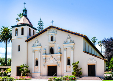 Near Santa Clara University, California
